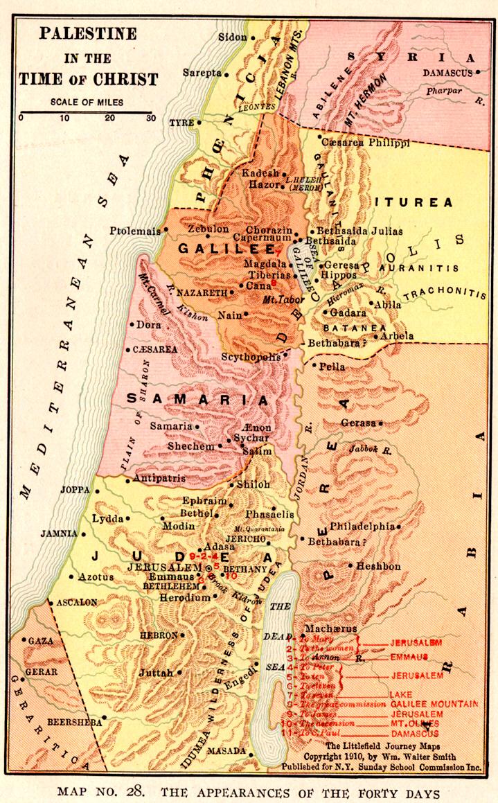 Alfa img - Showing > New Testament Canaan